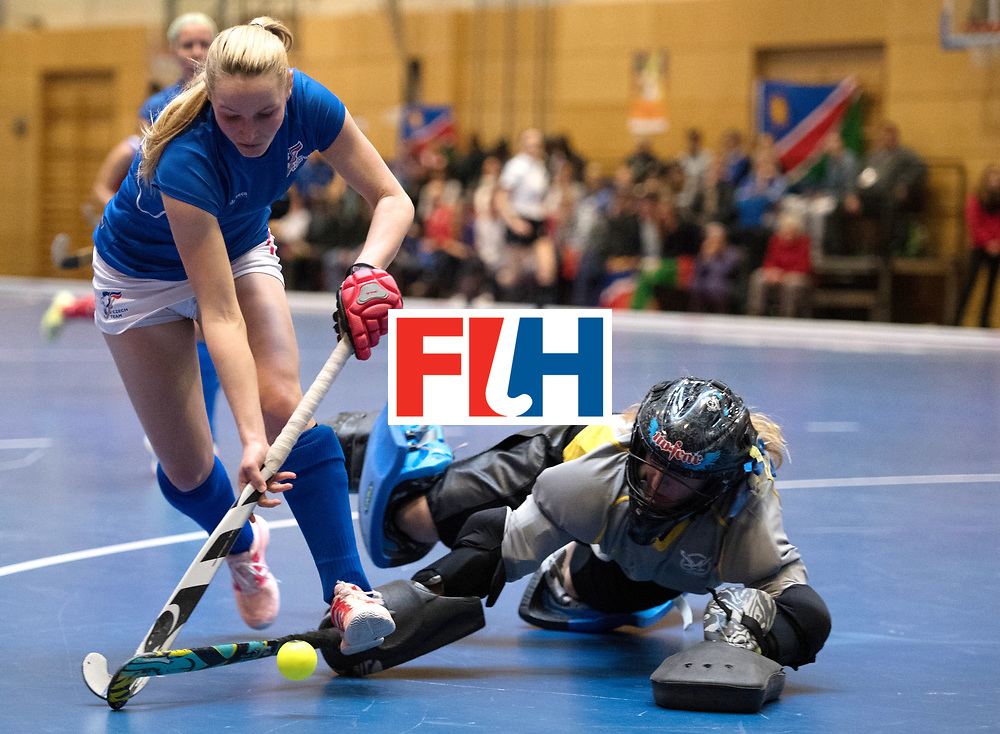 BERLIN - Indoor Hockey World Cup<br /> Czech Republic - Namibia<br /> foto: HAKLOVA Barbora<br /> WORLDSPORTPICS COPYRIGHT FRANK UIJLENBROEK