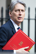 Foreign Secretary Philip Hammond arrives for Cabinet at Downing Street, London<br /> Picture by Paul Davey/Focus Images Ltd +447966 016296<br /> 16/03/2016