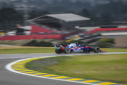 November 9, 2018 - Sao Paulo, Brazil - 10 GASLY Pierre (fra), Scuderia Toro Rosso Honda STR13, action during the 2018 Formula One World Championship, Brazil Grand Prix from November 08 to 11 in Sao Paulo, Brazil -  FIA Formula One World Championship 2018, Grand Prix of Brazil World Championship;2018;Grand Prix;Brazil  (Credit Image: © Hoch Zwei via ZUMA Wire)