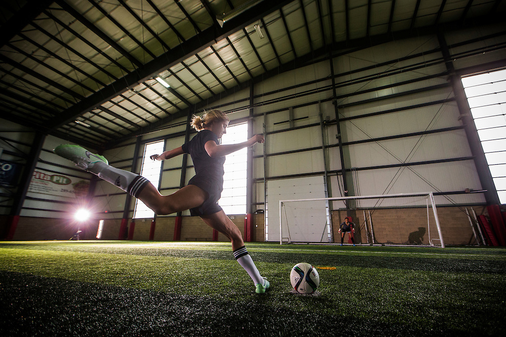 Sport Chek soccer shoot January 29, 2016 .