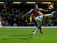 Photo: Richard Lane.<br />Watford v West Ham United. The Barclays Premiership. 22/08/2006. West Ham's Lee Bowyer crosses.