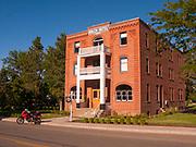 The historic Balch Hotel in Dfur Oregon,in Wasco County Oregon