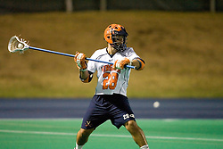 Virginia Cavaliers D Tim Shaw (28)..The Virginia Cavaliers men's lacrosse team faced the Georgetown Hoyas in a Fall Ball Scrimmage held at the University Hall Turf Field in Charlottesville, VA on October 12, 2007.