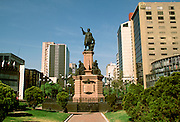 MEXICO, MEXICO CITY, CITYSCAPE Columbus or Colon Monument 19th C on Paseo de la Reforma
