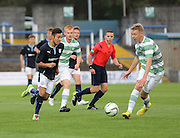 Dundee's Dylan Carreiro runs at Celtic's James Lindsay - Celtic v Dundee  SPFL Development League at Cappielow<br /> <br />  - &copy; David Young - www.davidyoungphoto.co.uk - email: davidyoungphoto@gmail.com