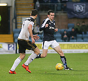 Dundee&rsquo;s Paul McGinn runs at Aberdeen&rsquo;s Andrew Considine - Dundee v Aberdeen, Ladbrokes Scottish Premiership at Dens Park<br /> <br />  - &copy; David Young - www.davidyoungphoto.co.uk - email: davidyoungphoto@gmail.com