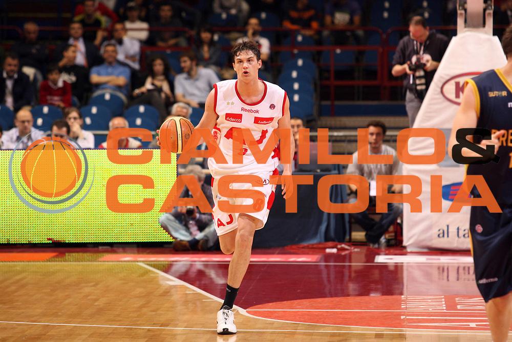 DESCRIZIONE : Milano Lega A1 2007-08 Playoff Quarti di Finale Gara 4 Armani Jeans Milano Premiata Montegranaro<br /> GIOCATORE : Danilo Gallinari<br /> SQUADRA : Armani Jeans Milano<br /> EVENTO : Campionato Lega A1 2007-2008 <br /> GARA : Armani Jeans Milano Premiata Montegranaro <br /> DATA : 16/05/2008 <br /> CATEGORIA : Palleggio<br /> SPORT : Pallacanestro <br /> AUTORE : Agenzia Ciamillo-Castoria/S.Ceretti