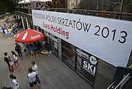 Mistrzostwa Polski Skrzatow w tenisie ziemnym w klubie Deski w Warszawie.<br /> <br /> Poland, Warsaw, July 02, 2013<br /> <br /> For editorial use only. Any commercial or promotional use requires permission.<br /> <br /> Photo by © Adam Nocon / Mediasport