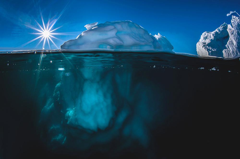 Iceberg at Harefjord, Greenland