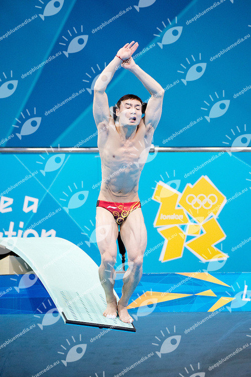 QIN Kai China (silver medal).3 m. springboard men final.London 2012 Olympics - Olimpiadi Londra 2012.day 12 Aug.7.Photo G.Scala/Deepbluemedia.eu/Insidefoto
