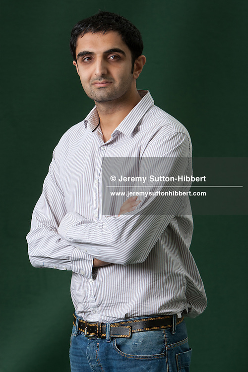 Sunjeev Sahota, author of 'Ours Are The Streets', at the annual Edinburgh International Book Festival, in Edinburgh, Scotland, Tuesday 23rd August 2011.