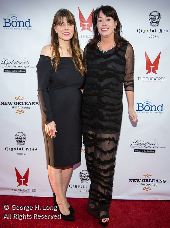 Event co-chairs Anna Beth Goodman and Allison Kendrick at the New Orleans Film Society Gala