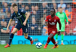 LIVERPOOL, ENGLAND - Sunday, October 7, 2018: Liverpool's Sadio Mane during the FA Premier League match between Liverpool FC and Manchester City FC at Anfield. (Pic by David Rawcliffe/Propaganda)