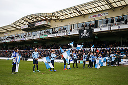 Bristol Rovers flag beaters - Rogan/JMP - 09/12/2017 - FOOTBALL - Memorial Stadium - Bristol, England - Bristol Rovers v Southend United - EFL Sky Bet League One.