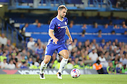 Chelsea defender Branislav Ivanovic (2) dribbling during the EFL Cup match between Chelsea and Bristol Rovers at Stamford Bridge, London, England on 23 August 2016. Photo by Matthew Redman.