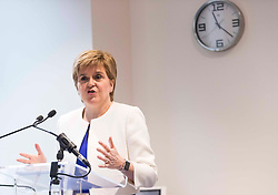 First Minister addresses Law Society of Scotland. Nicola Sturgeon will speak at the society's conference marking 20 years of devolution.<br /> <br /> Pictured: Nicola Sturgeon