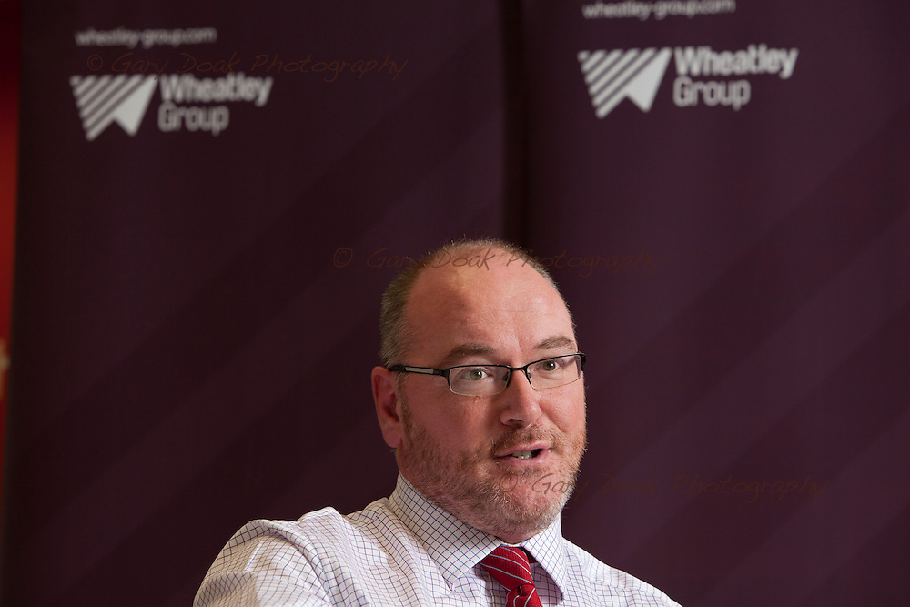 Martin Armstrong, Chief Executive of the Wheatley Group