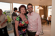 MARGARET RONALD WITH HER SON  TERRY RONALD, Terry Ronald - book launch party for his book ' Becoming Nancy' . The Westbury Hotel, Pine Room, Bond Street, London, W1S 2YF<br /> -DO NOT ARCHIVE-© Copyright Photograph by Dafydd Jones. 248 Clapham Rd. London SW9 0PZ. Tel 0207 820 0771. www.dafjones.com.