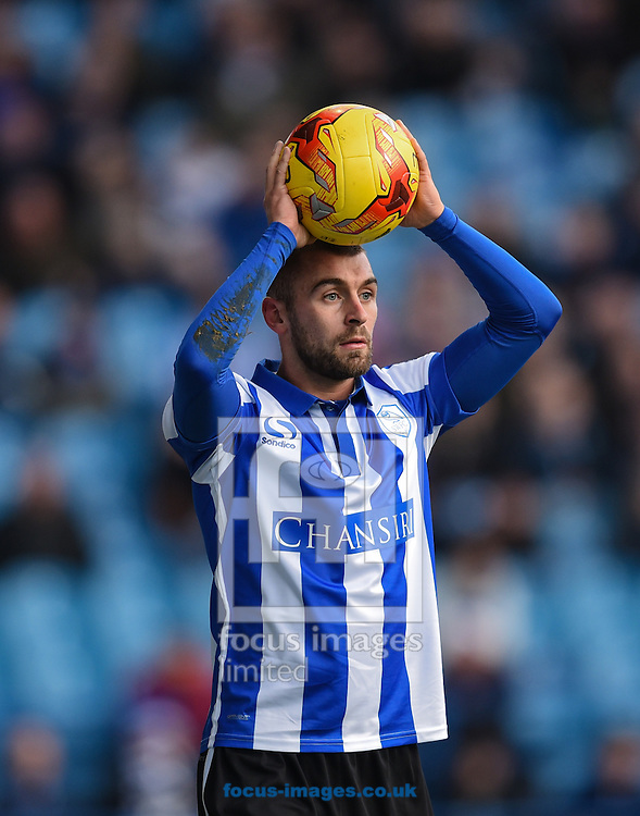 Jack Hunt of Sheffield Wednesday during the Sky Bet Championship match at Hillsborough, Sheffield<br /> Picture by Richard Land/Focus Images Ltd +44 7713 507003<br /> 20/12/2015