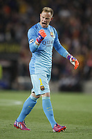 Marc-Andre Ter Stegen of Barcelona during the UEFA Champions League football match quarter final, 2 leg, between FC Barcelona and Paris Saint Germain on April 21, 2015 at Camp Nou stadium in Barcelona, Spain. Photo Bagu Blanco / DPPI