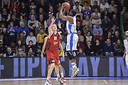 DESCRIZIONE : Eurocup 2015-2016 Last 32 Group N Dinamo Banco di Sardegna Sassari - Cai Zaragoza<br /> GIOCATORE : Tony Mitchell<br /> CATEGORIA : Tiro Tre Punti Three Point Controcampo<br /> SQUADRA : Dinamo Banco di Sardegna Sassari<br /> EVENTO : Eurocup 2015-2016<br /> GARA : Dinamo Banco di Sardegna Sassari - Cai Zaragoza<br /> DATA : 27/01/2016<br /> SPORT : Pallacanestro <br /> AUTORE : Agenzia Ciamillo-Castoria/L.Canu