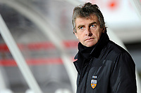 FOOTBALL - FRENCH CHAMPIONSHIP 2010/2011 - L1 - AS NANCY v FC LORIENT - 23/10/2010 - PHOTO GUILLAUME RAMON / DPPI - <br /> CHRISTIAN GOURCUFF (LORIENT COACH)