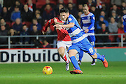 Queens Park Rangers midfielder Alejandro Faurlin during the Sky Bet Championship match between Bristol City and Queens Park Rangers at Ashton Gate, Bristol, England on 19 December 2015. Photo by Jemma Phillips.