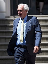 © Licensed to London News Pictures. 23/07/2019. London, UK. SIR EDWARD LISTER, Chief of Staff to Boris Johnson, is seen arriving at Conservative Party headquarters. Today the Conservative Party Elected Boris Johnson as their new leader and Prime Minister, following Theresa May's announcement that she will step down. Photo credit: Ben Cawthra/LNP