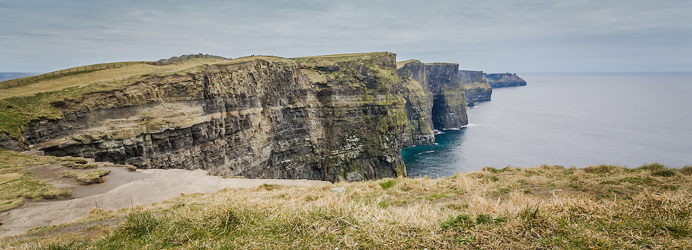 Photograph of the Cliffs of Moher, County Clare, Ireland
