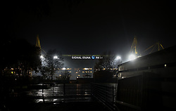 November 21, 2017 - Dortmund, Germany - A general view Westfalenstadion home stadium of BVB prior to the UEFA Champions League group H match between Borussia Dortmund and Tottenham Hotspur at Signal Iduna Park on November 21, 2017 in Dortmund, Germany. (Credit Image: © Ahmad Mora/NurPhoto via ZUMA Press)