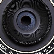 Antique Eastman Kodak 1A Pocket Camera. A folding A120 film camera made between 1922 and 1931.