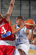 Campionato Europeo Maschile Under 20 Italia-Croazia Daniel Lorenzo Hackett