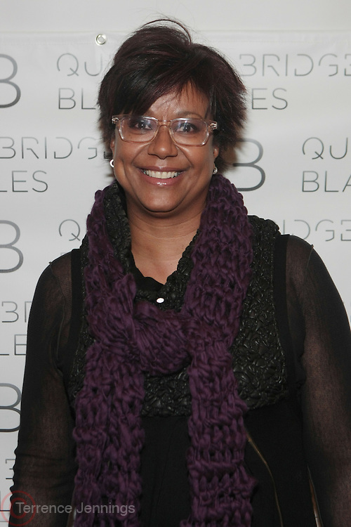New York , NY- February 3-  Media Personality Harriette Cole at the official opening reception for Question Bridge:  Black Males presented by the Brooklyn Museum & sponsored by the Bay Area Video Coalition,  Open Society Foundations Campaign for Black Male Achievement, the Tribeca Film Institute, Sundance Film Institute's New Frontier Story Lab, the LEF Foundation, the Center for Cultural Innovation, and the California College of the Arts. Additional support was provided by the Jack Shainman Gallery and held at the Brooklyn Museum on February 3, 2012 in Brooklyn, New York City. Photo Credit: Terrence Jennings