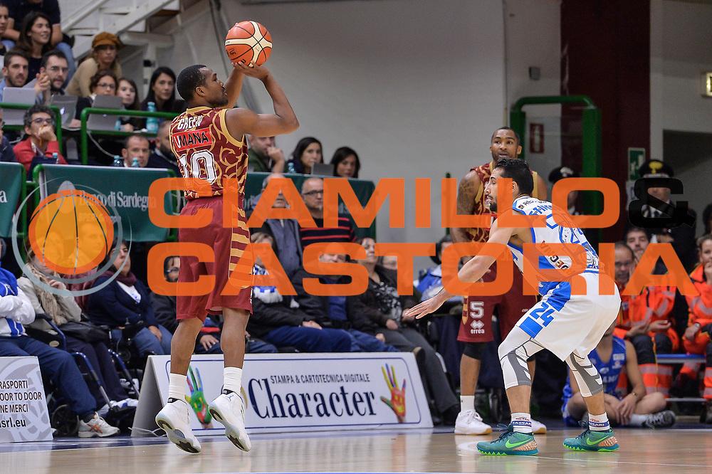 DESCRIZIONE : Campionato 2015/16 Serie A Beko Dinamo Banco di Sardegna Sassari - Umana Reyer Venezia<br /> GIOCATORE : Mike Green<br /> CATEGORIA : Tiro Tre Punti Three Point Controcampo<br /> SQUADRA : Umana Reyer Venezia<br /> EVENTO : LegaBasket Serie A Beko 2015/2016<br /> GARA : Dinamo Banco di Sardegna Sassari - Umana Reyer Venezia<br /> DATA : 01/11/2015<br /> SPORT : Pallacanestro <br /> AUTORE : Agenzia Ciamillo-Castoria/L.Canu