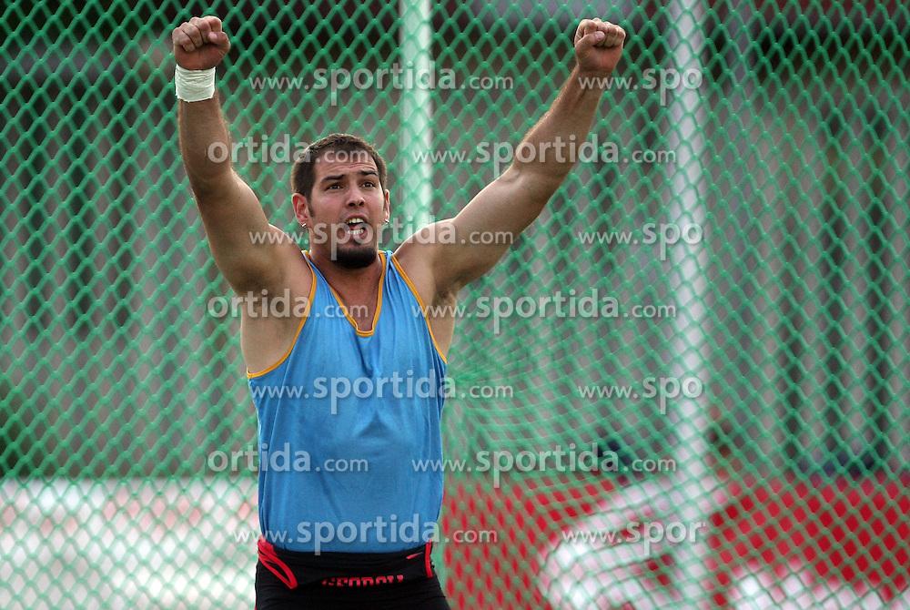 Martin Maric of Croatia  at Athletic National Championship of Slovenia, on July 20, 2008, in Stadium Poljane, Maribor, Slovenia. (Photo by Vid Ponikvar / Sportal Images).