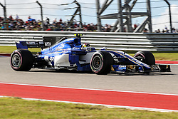 October 21, 2017 - Austin, Texas, U.S - Pascal Wehrlein of Germany (94) in action during the final practice before the Formula 1 United States Grand Prix race at the Circuit of the Americas race track in Austin,Texas. (Credit Image: © Dan Wozniak via ZUMA Wire)