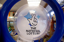 File photo dated 6/1/16 of a National Lottery kiosk in a newsagent in north London as one winner scooped the £21.3 million Lotto jackpot on Saturday, leaving an estimated £1.9 million top prize for Wednesday's draw.