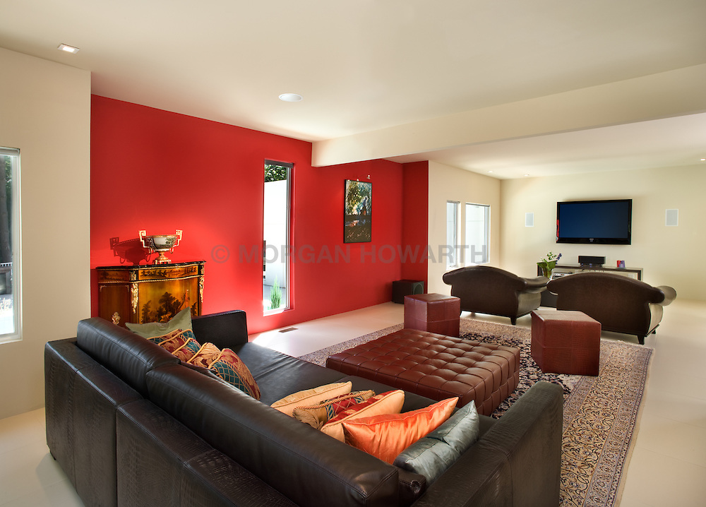 6912 Benjamin St., McLean, VA Ali and Farzaneh Saadat Family room TV room