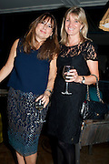 ALEX SHULMAN; MARY HOMER, Leaving dinner for Kate Phelan given by Alex Shulman and Mary Homer. Riding House Cafe. Great Titchfield st. London. 20 September 2011. <br /> <br />  , -DO NOT ARCHIVE-© Copyright Photograph by Dafydd Jones. 248 Clapham Rd. London SW9 0PZ. Tel 0207 820 0771. www.dafjones.com.