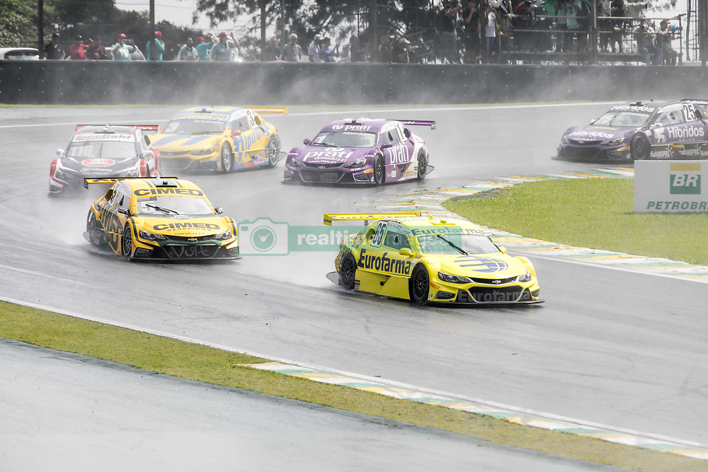 March 10, 2018 - Sao Paulo, Sao Paulo, Brazil - Mar, 2018 - This Saturday (10) at the Autodromo de Interlagos in the city of São Paulo, the Stock Car doubles stage, opening the 2018 season of the competition. (Credit Image: © Marcelo Chello via ZUMA Wire)
