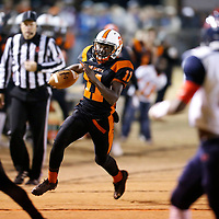 Thomas Wells | BUY at PHOTOS.DJOURNAL.COM<br /> Calhoun City's Treshone Cooper and their running game put the game out of reach for Baldwyn by the middle second quarter.