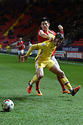 Milton Keynes Dons midfielder Darren Potter during the Sky Bet Championship match between Charlton Athletic and Milton Keynes Dons at The Valley, London, England on 8 March 2016. Photo by Martin Cole.