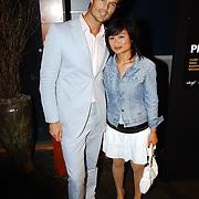 Playboy Night 2004, Arie Boomsma en partner Kieu Vuong