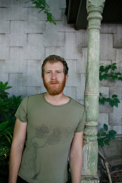 Ari Picker, of Lost In The Trees, photographed in North Carolina, May 6, 2010.