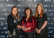 Scottish Border of Chamber Border Busines awards, 2017, held at Springwood Hall.<br /> <br /> 'Supporting Young Workforce Business of the Year' winner ~ Farne Salmon, based in Duns. Sponsored by Developing Young Workforce.