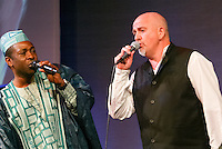 Peter Gabriel and Youssou N'dour