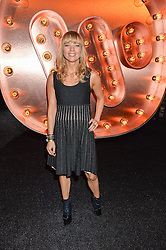 SARA COX at the Warner Music Group & Ciroc Vodka Brit Awards After Party held at The Freemason's Hall, 60 Great Queen St, London on 24th February 2016.