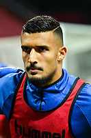 Idriss Saadi of Strasbourg during the Ligue 1 match between Dijon FCO and Strasbourg at Stade Gaston Gerard on September 30, 2017 in Dijon, . (Photo by Vincent Poyer/Icon Sport)