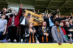 Hull City fans hold up a banner in tribute to Hull City manager Marco Silva - Mandatory by-line: Robbie Stephenson/JMP - 21/05/2017 - FOOTBALL - KCOM Stadium - Hull, England - Hull City v Tottenham Hotspur - Premier League