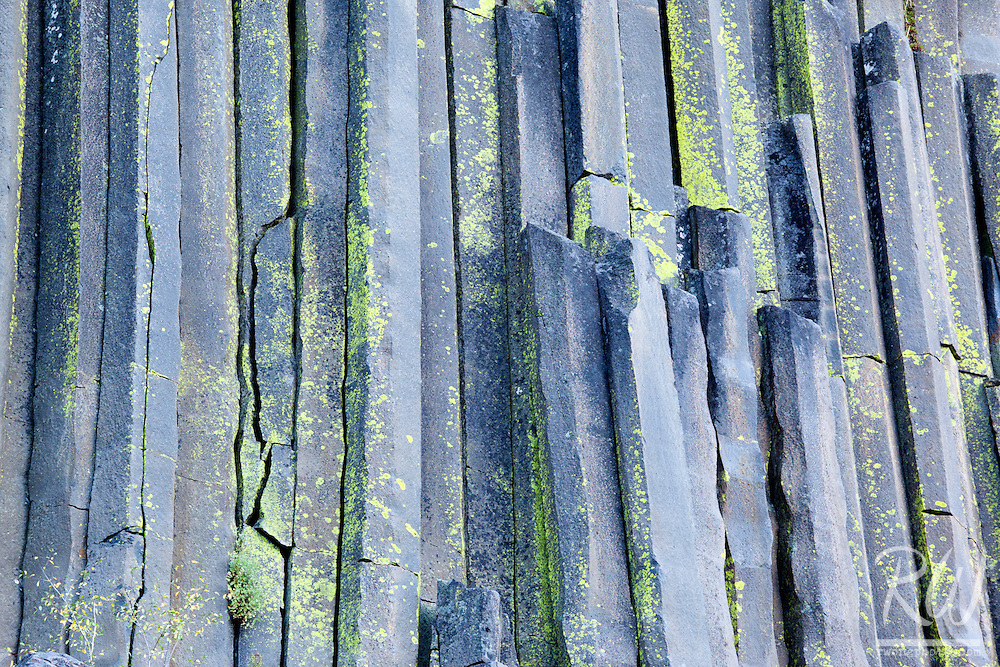 Basalt Columns, Devils Postpile National Monument, California